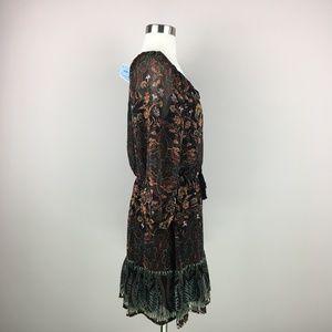 As U Wish Dresses - NWT AUW As U Wish Peasant Paisley Dress Size S